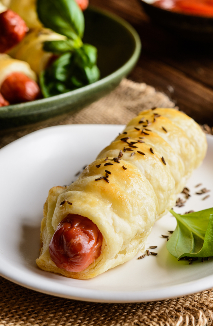Okay, if you haven't used crescent rolls in your cooking, where on earth have you been? Here are 5 delicious recipes all featuring the crescent roll! These hot dogs in a blanket are an American staple!