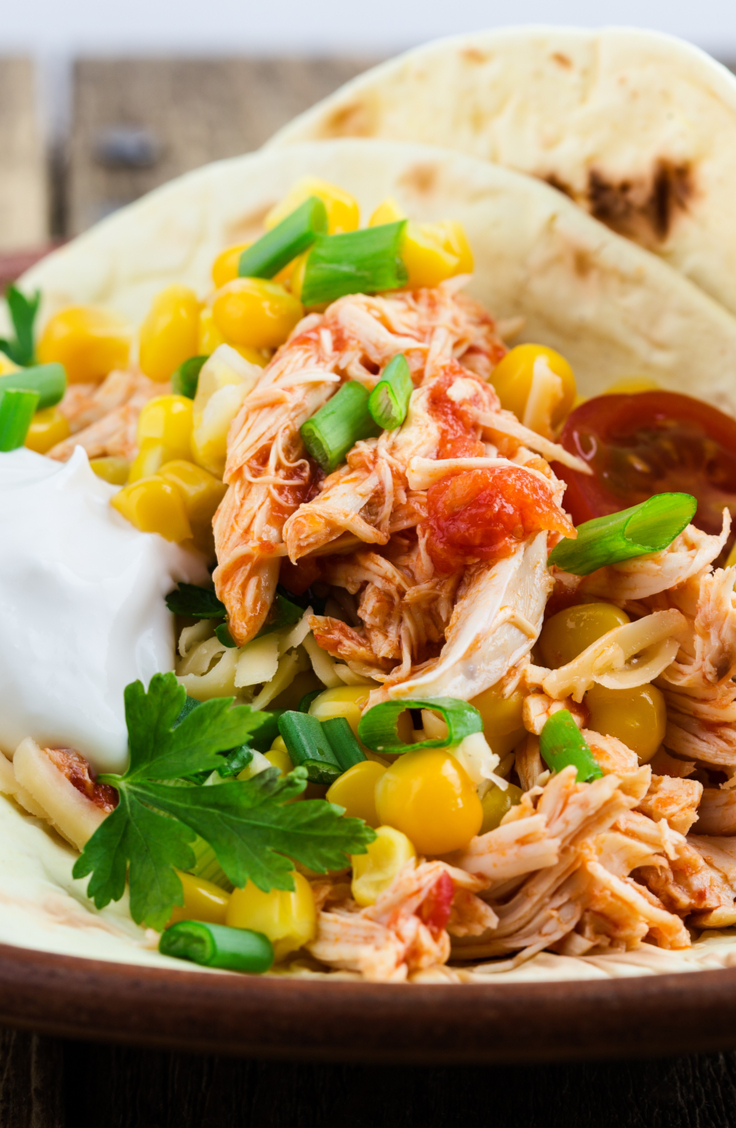 One of my favorite recipes is crockpot chicken tacos! They are easy and scrumptious. Here are some of my favorite Crockpot Chicken Taco Recipes! See what ingredients you need to make these amazing tacos.