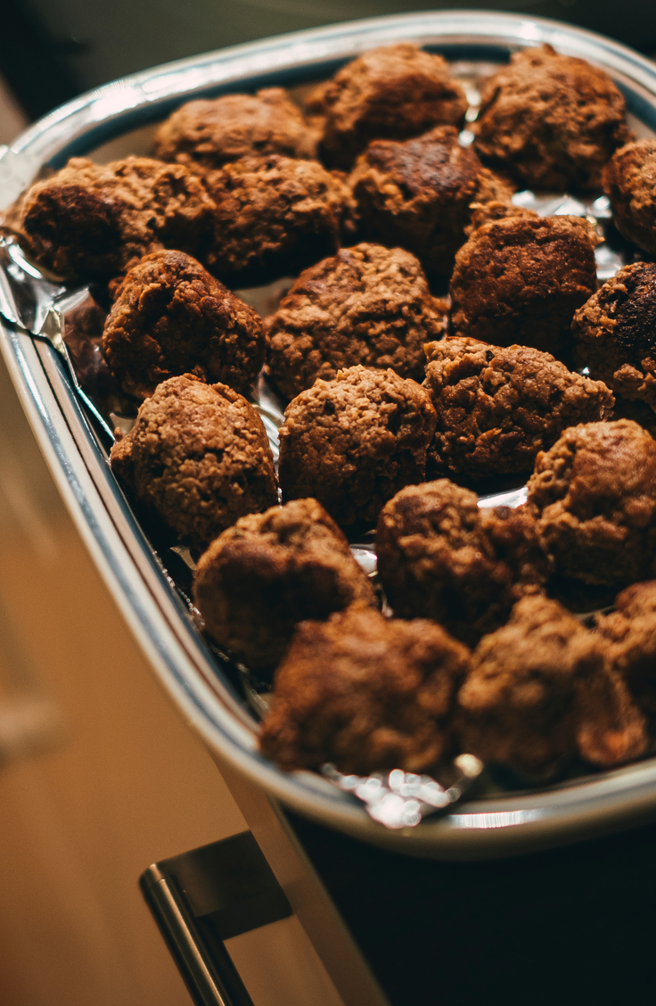 The greatest part about these Swedish meatballs has to be the creamy gravy. The gravy is part of what makes the meatballs so delicious. You can even make vegetarian Swedish meatballs.