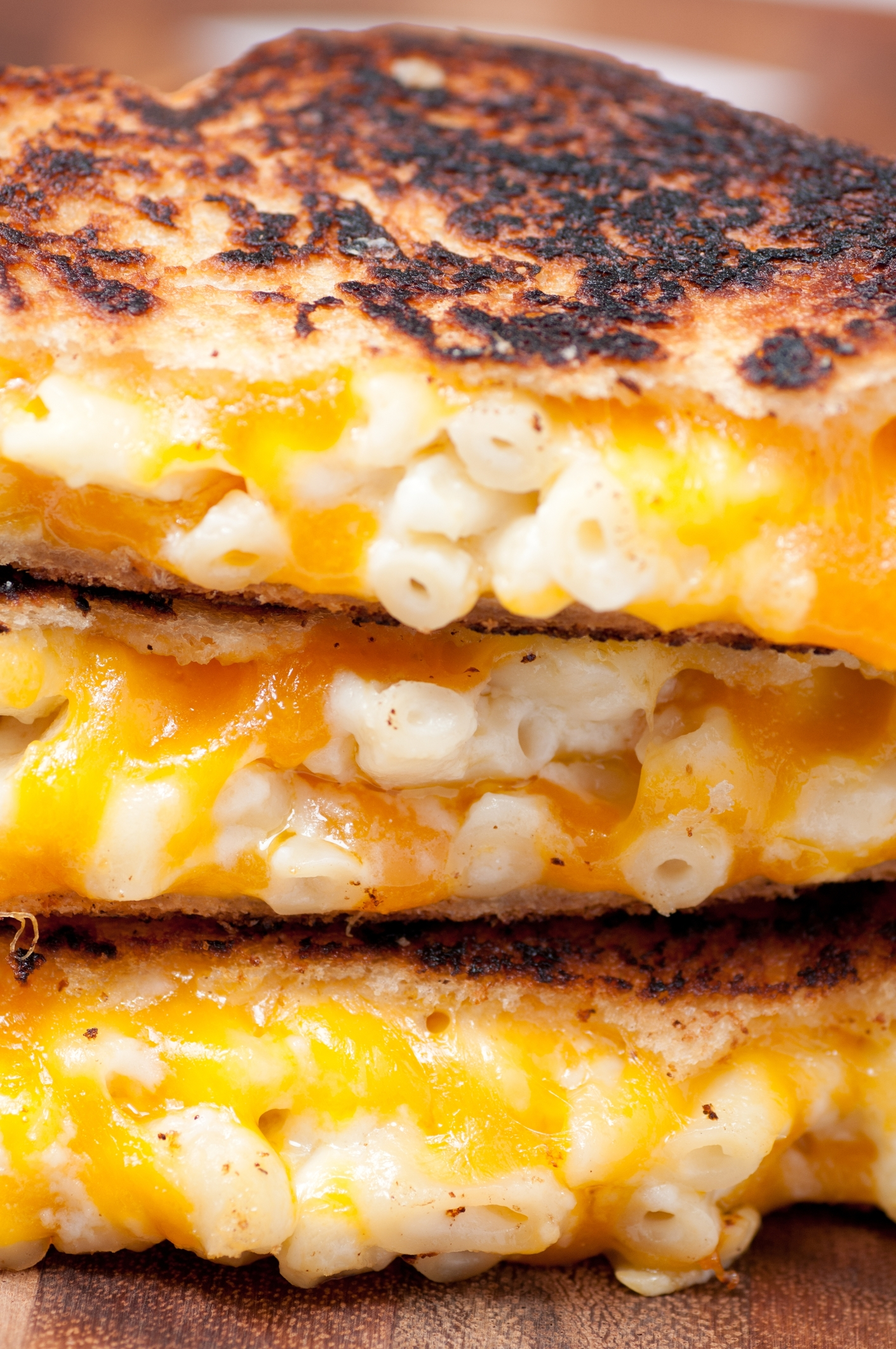 I've gathered up some easy at home lunch ideas for kids, some with as few as three ingredients, to help you get through this spring and summer. This grilled macaroni and cheese sandwich will become their new favorite!