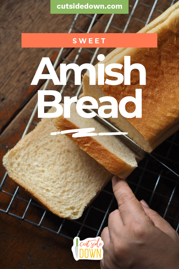 When you need the ultimate comfort food, this bread is solution. Here are three versions to warm your heart and your belly. #TheCutSideDownBlog #SweetAmishBreadRecipes #FreshBreadRecipes #ComfortFoodRecipes