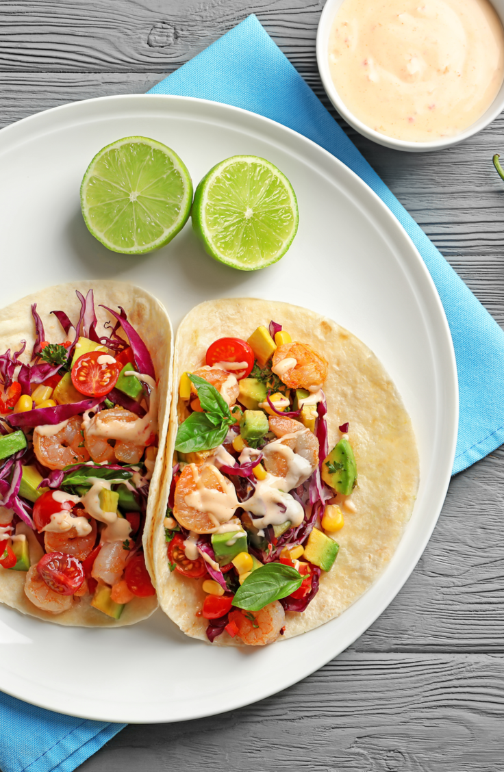 Shrimp Tacos are a perfect way to say hello to sunshine and warm weather. If you're unsure about how to make shrimp tacos, here are some great recipes! These will quickly become the family favorite!