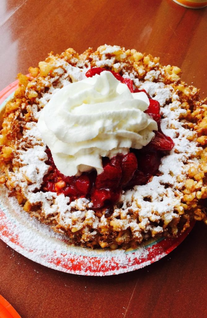 These pancake mix funnel cakes are to die for! If you're looking for some great dessert ideas, here are five delicious Aunt Jemima dessert recipes!