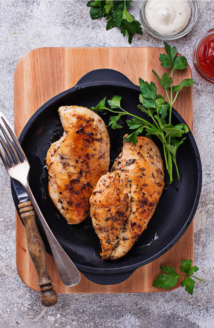 The great thing about skinless, boneless chicken breast is that it's versatile and easy. Check out these delicious chicken breast recipes! Your family will love this baked chicken!