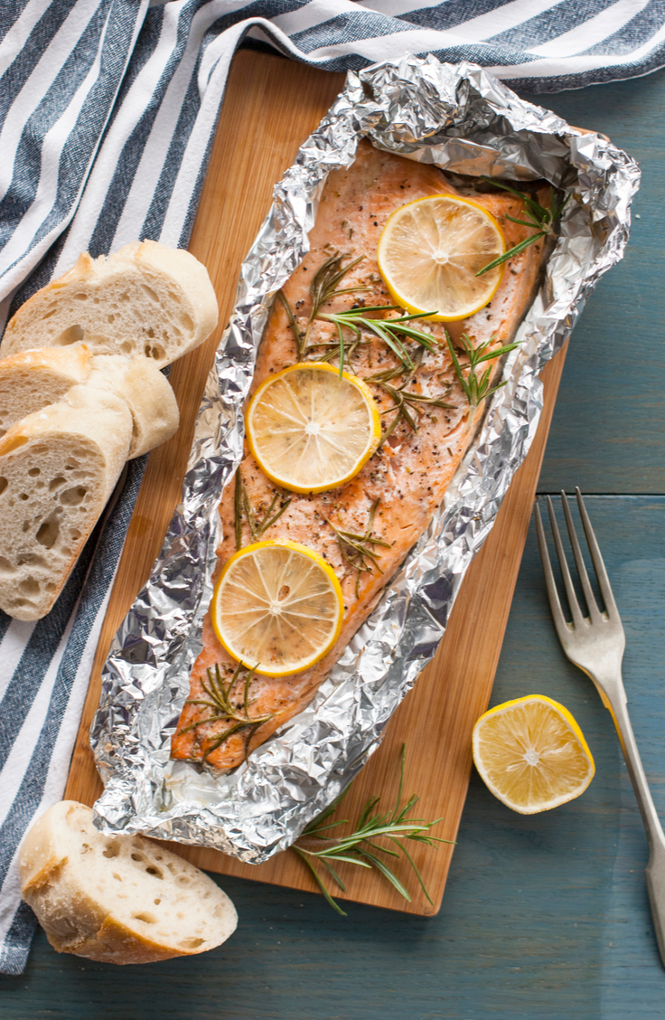 From brown sugar to teriyaki to asparagus and lemon, we've gathered some of our favorite salmon recipes baked in foil! You will love them!