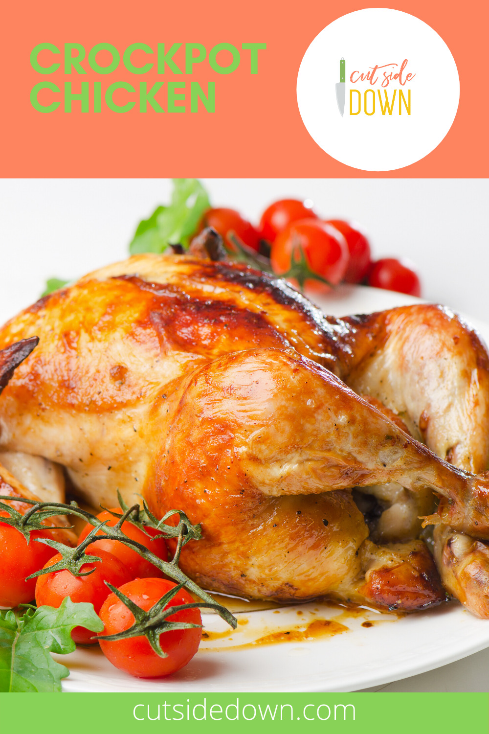If you love chicken, this recipe can't be beat. Besides being unbelievably tasty, its deliciously easy. Simply put it in the crockpot and go. What could be better? Read the post for the recipe. Enjoy! #crockpotchickenrecipe #slowcookerrecipes #easychickenrecipes