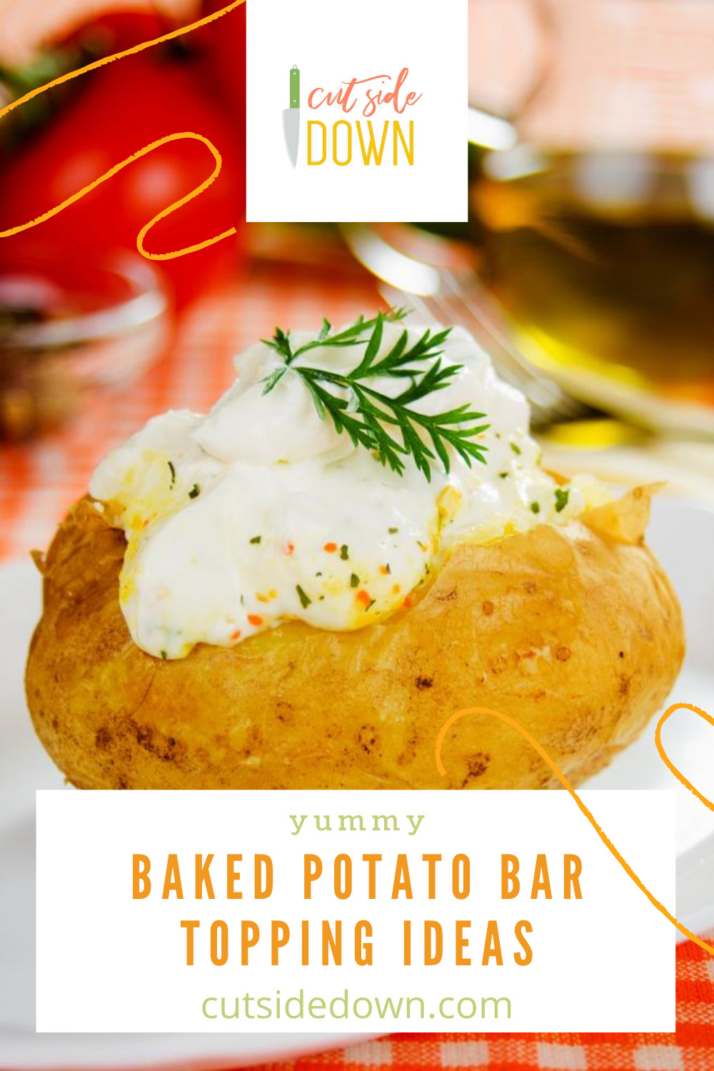 If you have to feed a large group, the a potato bar is where it's at! If you're putting one together, then you've got to have all the best toppings. Come check it out! #PotatoBarToppingIdeas #DIYPotatoBar #PotatoBarRecipes