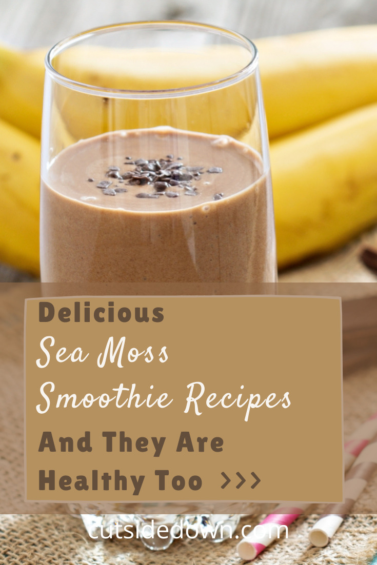 Ever heard of sea moss? While it might sound a little odd, it is tasty and incredibly packed with health benefits. Read on to learn more about it and some delish smoothie recipes. #seamossbenefits #seamosssmoothies #cutsidedownblog