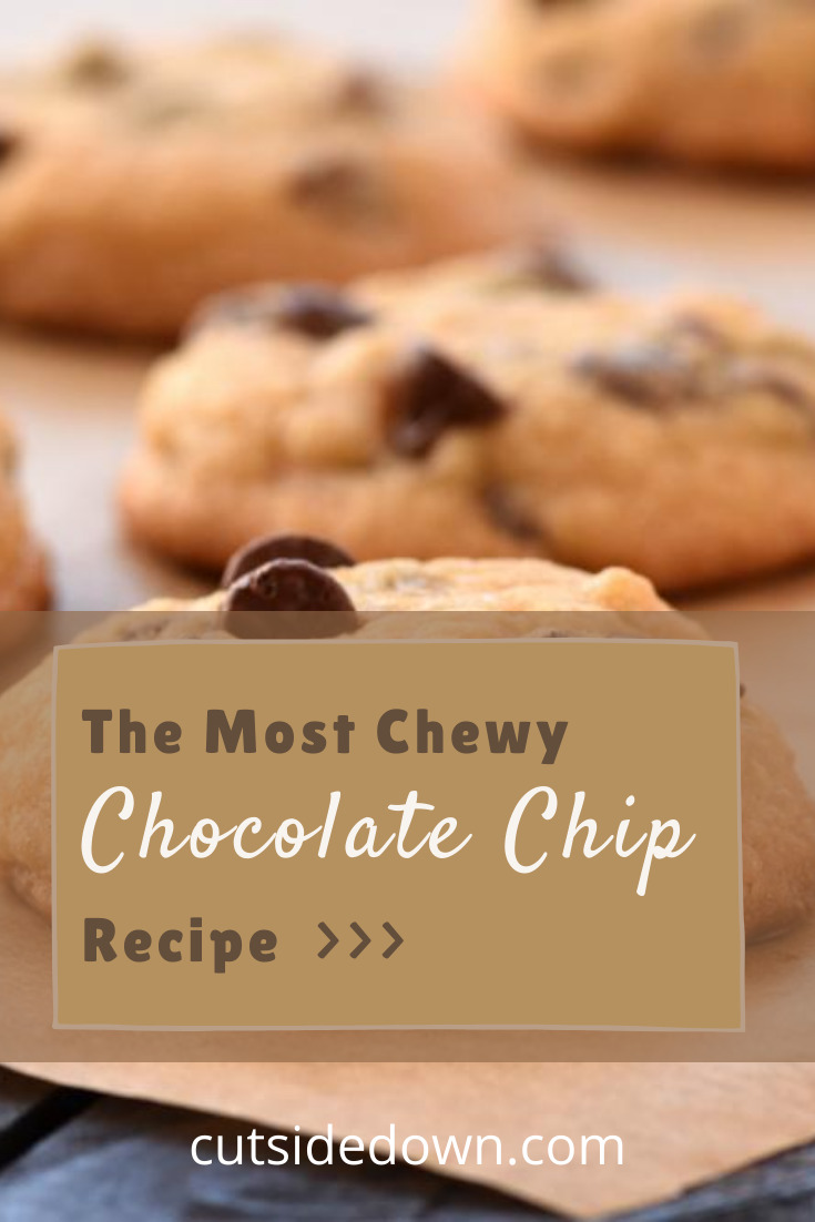 Not all chocolate chip cookies are the same. That's why you need this recipe from cutsidedown.com. Read the post and subscribe for delicious and nutritious recipes weekly. #cutsidedownblog #cookierecipes #chocolatechipcookies