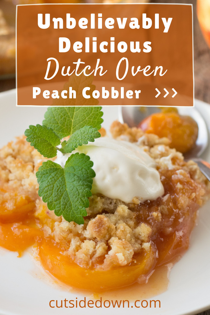 Cutsidedown.com is the best place to go for new recipes, cooking tips, and kitchen ideas. Satisfy your sweet tooth with this amazing recipe for peach cobbler. Cooking in a dutch oven adds an incredibly homey and rugged touch to a classic dish!