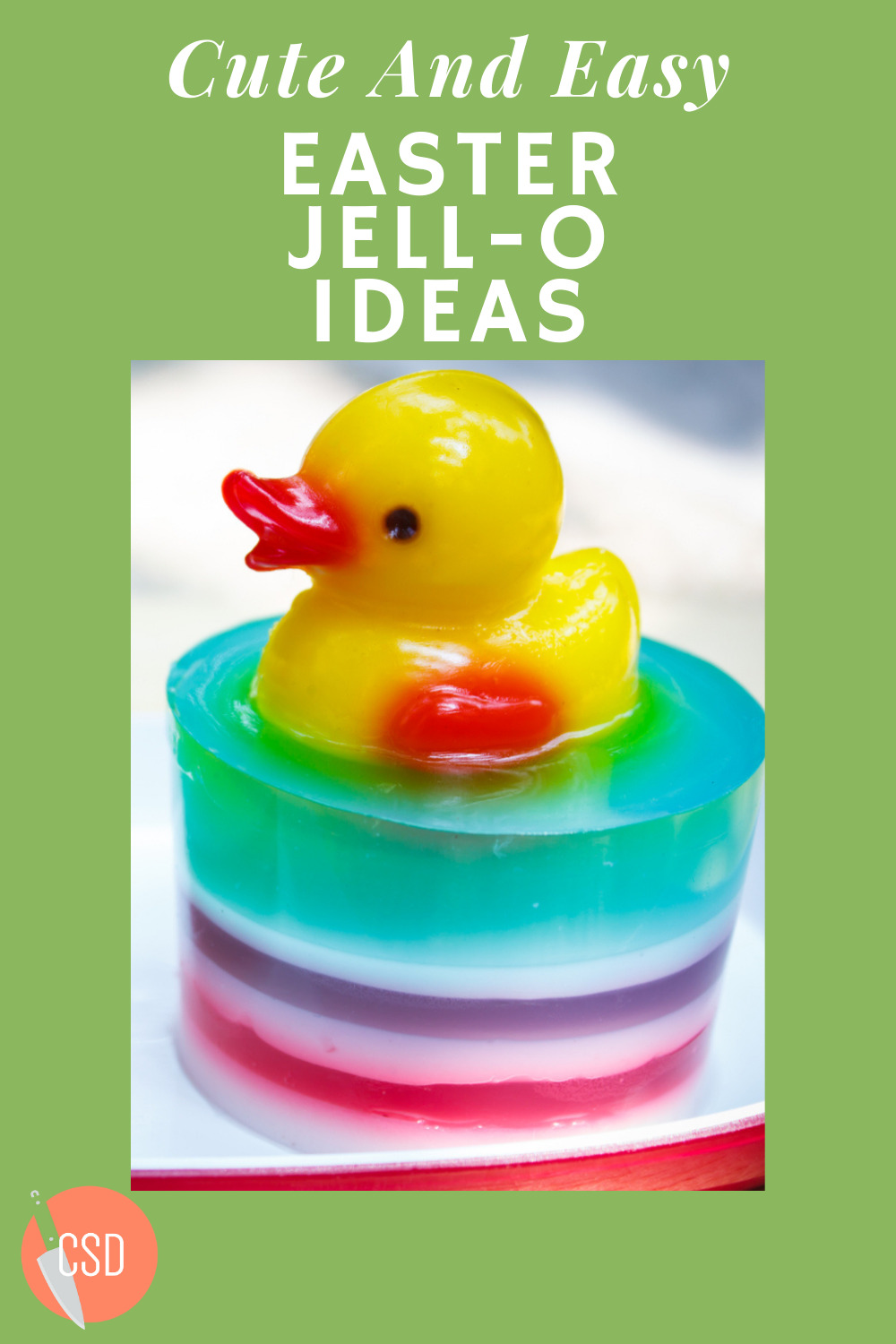 Cutsidedown.com is the best place to find tasty food and drink recipes! Find the best dish to serve for any occasion. Don't miss out on a timeless staple with these fun and easy Easter Jell-O ideas!