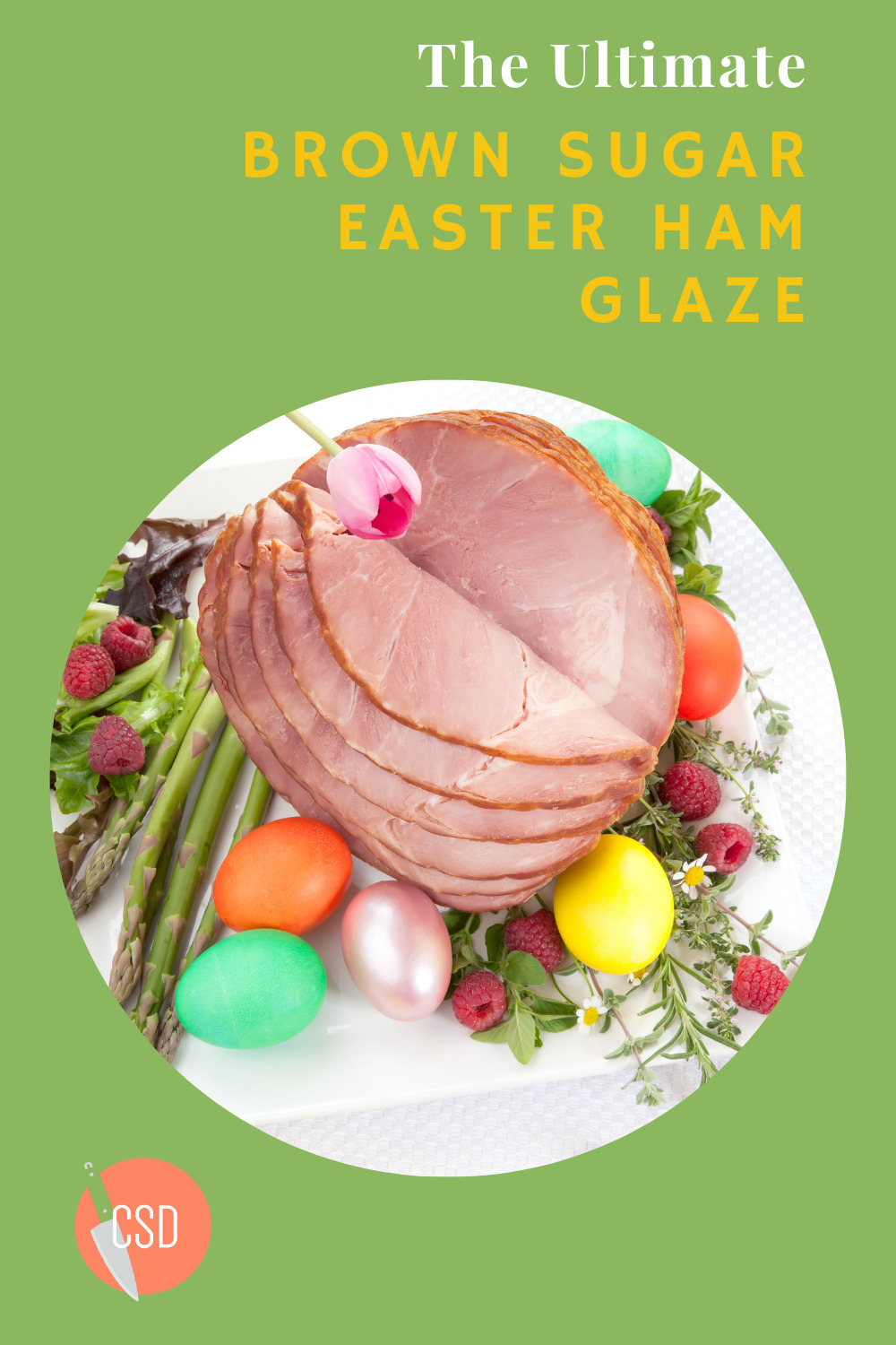 Cutsidedown.com has the best food and drink recipes for any occasion year-round! Find your new staple recipes for the holidays! This Easter, don't miss this deliciously sweet brown sugar ham glaze!