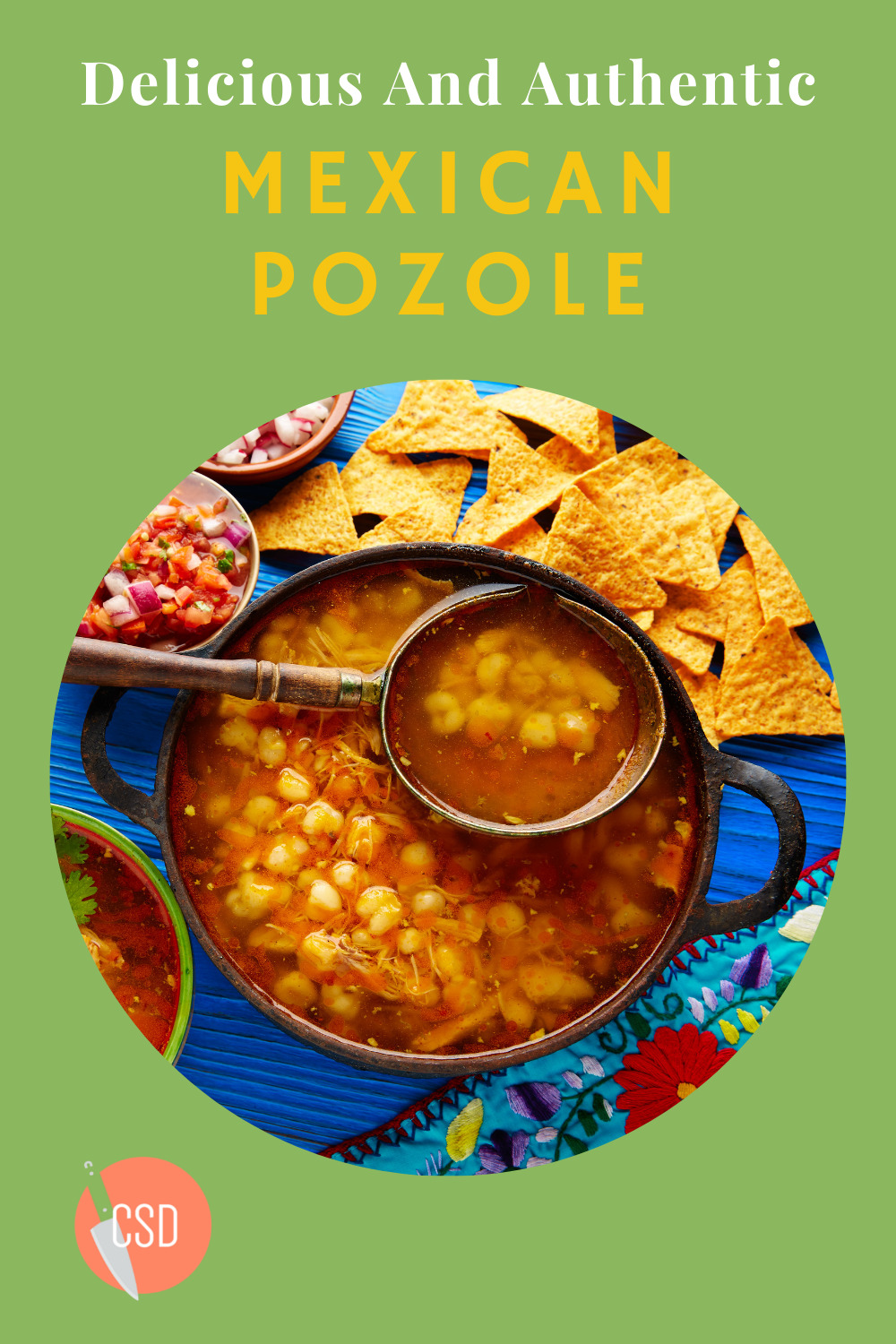 Cutsidedown.com is loaded with delicious and easy recipes you're sure to love! Find authentic Mexican food ideas your entire family will love. This Mexican pozole recipe is sure to please at your next family dinner.