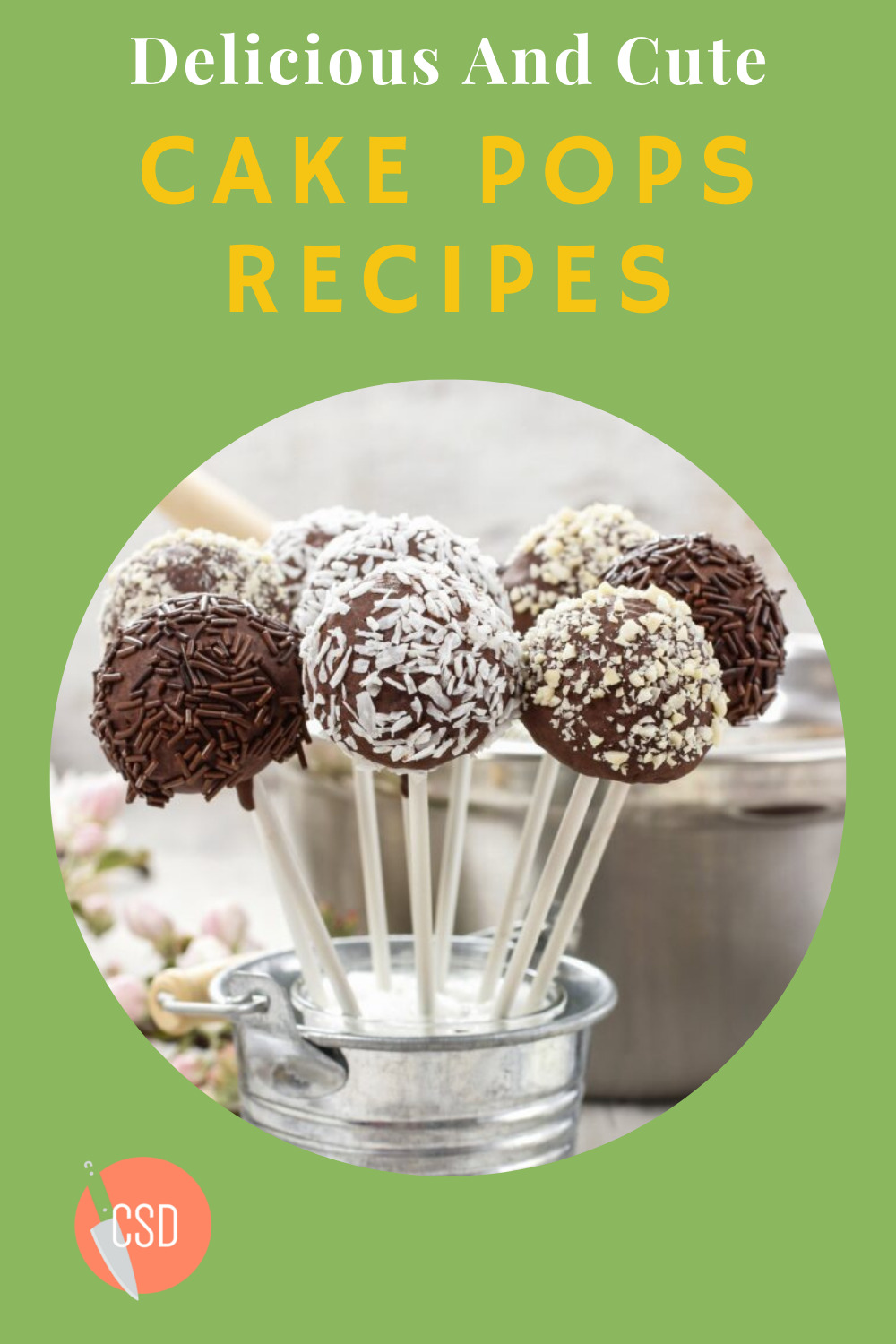 Cutsidedown.com is loaded with the best food and drink recipe ideas for any occasion. Find out what you should prepare for your next event. These cake pop recipes are cute, sweet, and absolutely delicious.