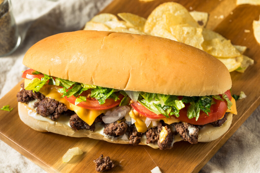 Chopped Cheese Sandwiches - Shape Your Beef