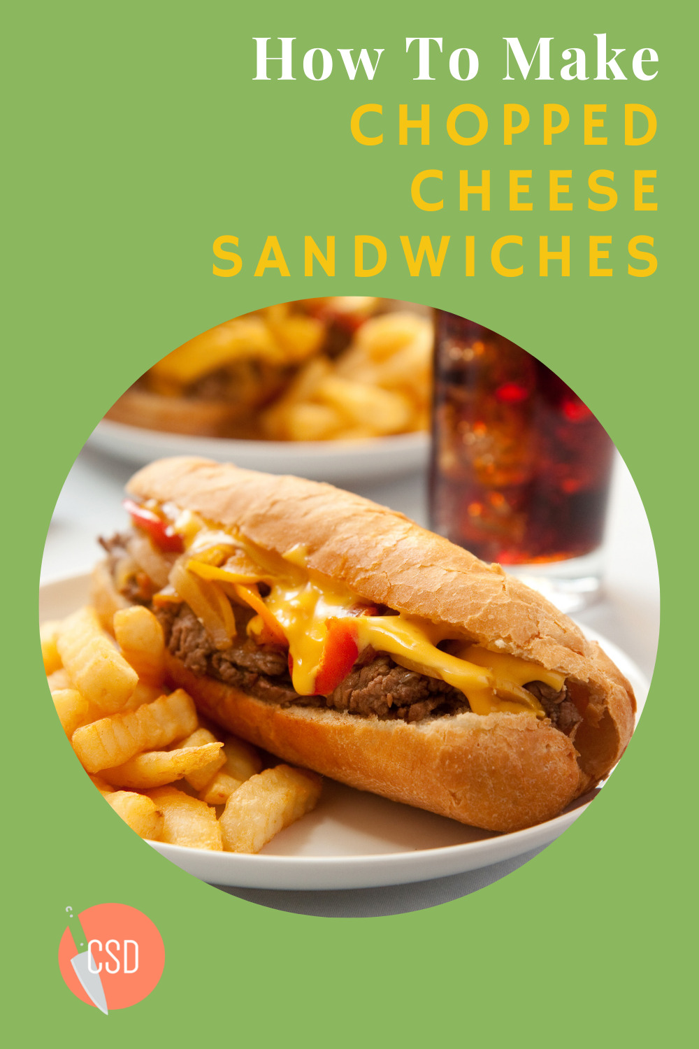 Cutsidedown.com makes cooking fun and easy! Find tons of tasty and simple recipes anyone can make! Mix things up with this delicious chopped cheese sandwich recipe!