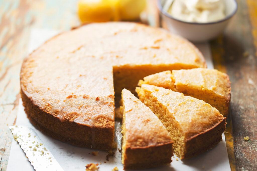 Sweet tooth's heaven – polenta cake
