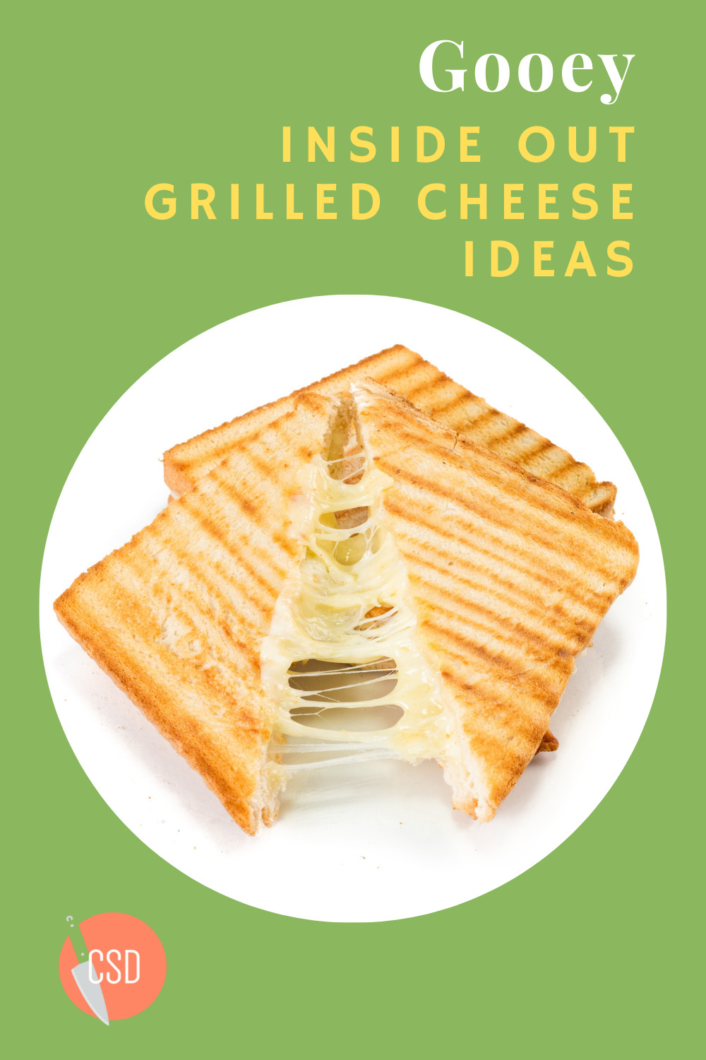 Cutsidedown.com makes cooking fun and easy! Find tons of tasty and simple recipes anyone can make! Mix things up with this delicious inside out grilled cheese recipe!